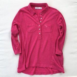 3/$25 Abercrombie Kids Hot Pink 3/4 Shirt.